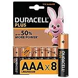Tutti conoscono la durata del Coniglietto Duracell POTENTI & LONGEVE: Le batterie Duracell Plus AAA forniscono energia affidabile ed a lunga durata a tutti i tuoi dispositivi fino al 50% di energia in più SICURE: la chiusura in Nylon aiuta a prevenir...