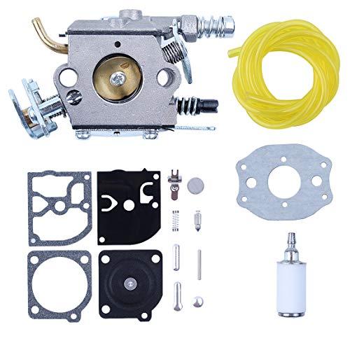 Haishine carburador línea de Combustible Filtro Carb diafragma Kit de reconstrucción para Husqvarna 36 41 136 136LE 137 137E 141 141LE 142 142E Motosierra