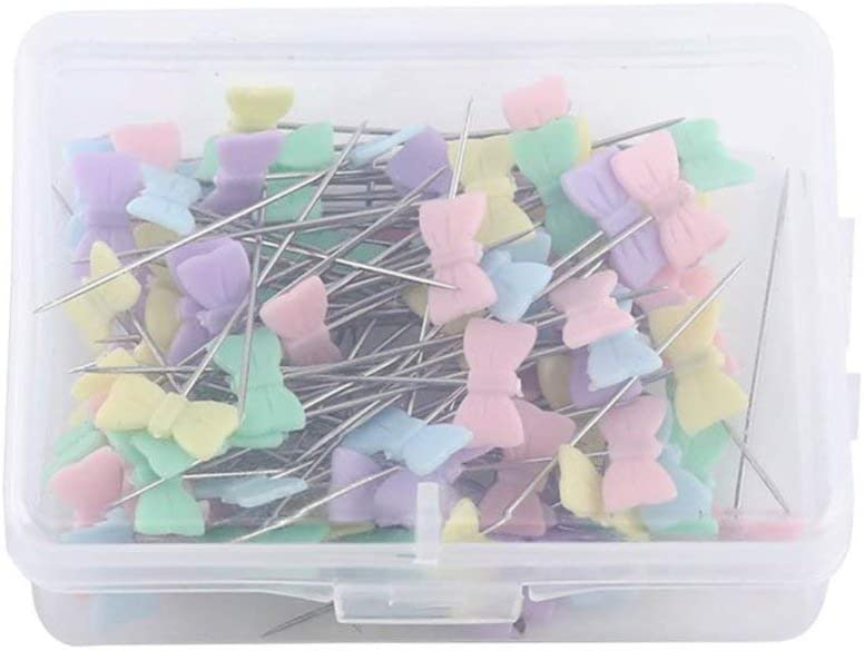 A Box Louisville-Jefferson County Mall of 100pcs Tie Pins with Sewi Head Sewing DIY Max 42% OFF