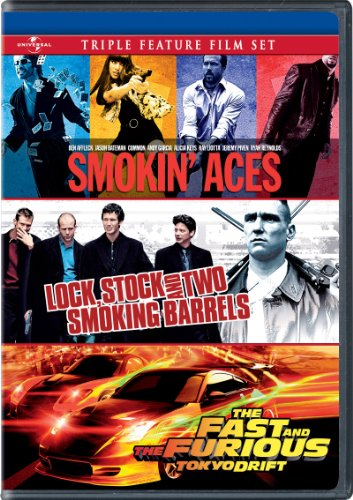 Smokin' Aces / Lock, Stock and Two Smoking Barrels / The Fast and the Furious: Tokyo Drift Triple Feature Film Set [DVD]