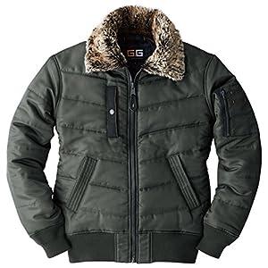 sowa(ソーワ) 防寒ブルゾン フライトジャケット 防寒ジャンパー sw-44503-b アーミー 3L
