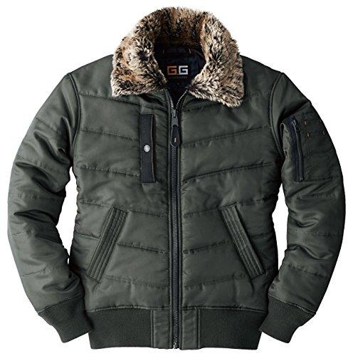 sowa(ソーワ) 防寒ブルゾン フライトジャケット 防寒ジャンパー sw-44503 アーミー M