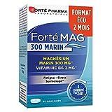 Forté Mag 300 Marin | Complément Alimentaire à base de Magnésium Marin et Vitamine B6 - Stress et Surmenage | 56 comprimés