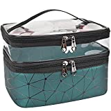 MKPCW Makeup Bags Double layer