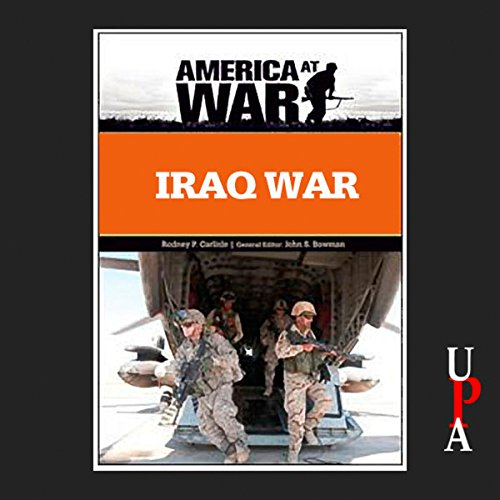 Iraq War audiobook cover art