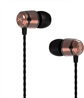 SoundMAGIC E50 Auriculares Profesionales con Aislamiento de Sonido, monitores en el oído, Auriculares con Cable, HiFi Ster...