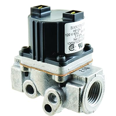 """JOHNSON CONTROLS Gas Solenoid Valve 120V, 1/2"""" NPT Inlet and Outlet H91DA7 by JOHNSON CONTROLS"""