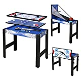 AHHC Children Multi-function board Game tables 3ft Kids 5 in 1 Gaming Table