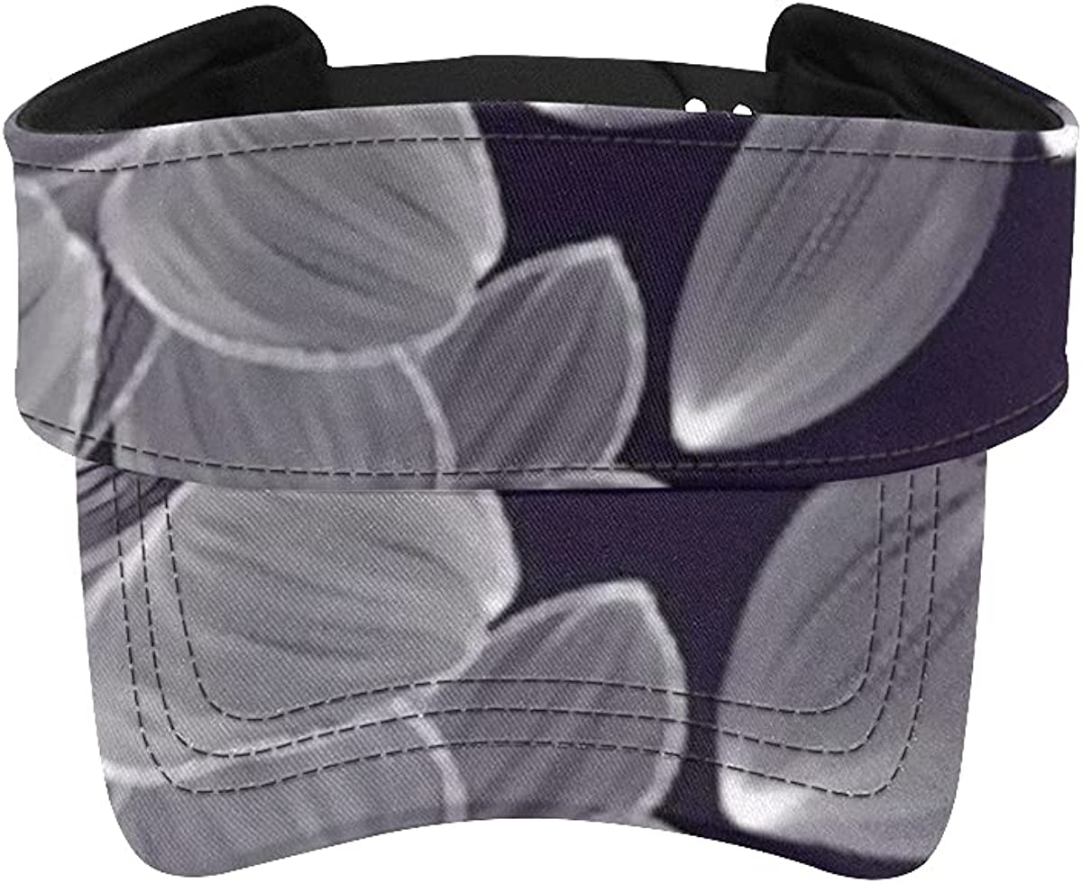 Sun Visor Hat Abstract Hand Drawn Las Vegas Mall Baltimore Mall Floral Lily Pattern Vis Tennis