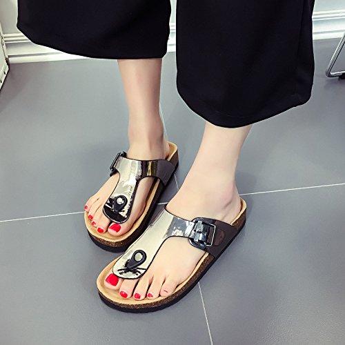 Qsy shoe Sandalias y Zapatillas de Verano