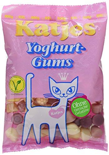 Kultige Fruchtgummi Süßigkeit mit Joghurt-Geschmack – Der Klassiker unter den Süßigkeiten in der Großpackung (12 x 500 g)