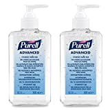 PURELL® Advanced Gel Idroalcolico disinfettante mani – (2 x bottiglie 300ml)
