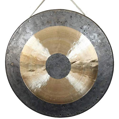 Large gong great for large song and dance troupes and symphony orchestra singing bowls...