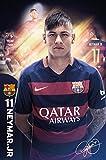 GB Eye 61x 91,5cm Barcelona, Neymar 15/40,6cm Maxi