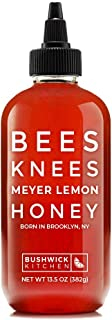 Bushwick Kitchen Bees Knees Meyer Lemon Honey, Wildflower Honey Infused with a Bright Squeeze of Citrus, 13...