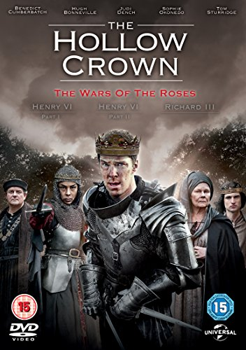 The Hollow Crown: The War of the Roses [DVD] [2015] UK-Import, Sprache-Englisch.