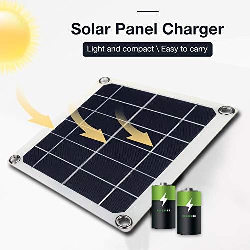 Polykristalline Siliziumbatterie 10 W Solarpanel Doppel-USB-Schnittstelle Solarpanel 10 W Solarpanel-Ladegerät