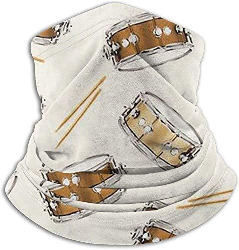 Lawenp Pañuelo de la cubierta de la cara, polaina del cuello del tambor, pasamontañas de bufanda mágica lavable para hombres y mujeres