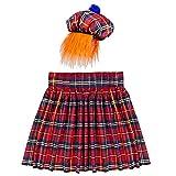 Widmann 01107?écossais Set, Kilt et Chapeau avec Cheveux