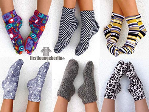 Turbo-Kuschel-Socken für die ganze Familie in 16 Größen nähen -  Anleitung mit Schnittmuster von firstloungeberlin: Schritt für Schritt Anleitung für Turbo-Söckchen - mit Schnitt zum Sofort-Download