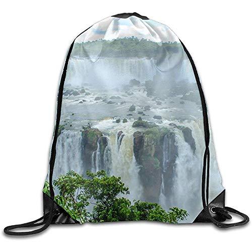 String Pull Bag,Sporttasche Florenz Toskana Neuheit Kordelzug Rucksack Gym Sackpack Für Männer Frauen Schule Reisetasche
