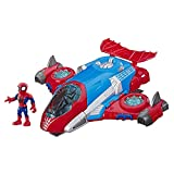 Playskool Heroes Marvel Super Hero Adventures Spider-Man Jetquarters