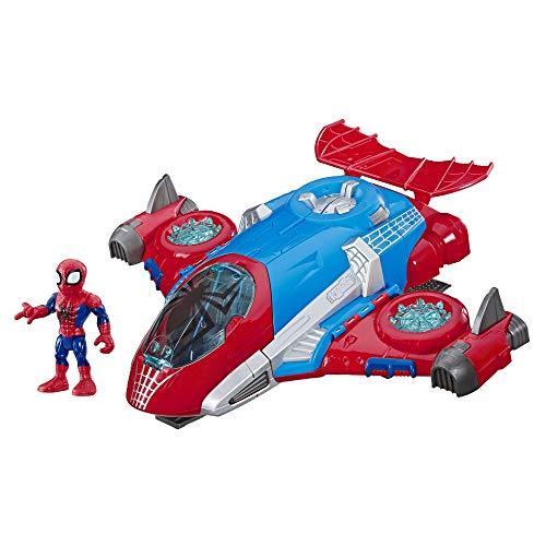 Super Hero Adventures Playskool Heroes Marvel Spider-Man Jetquarters