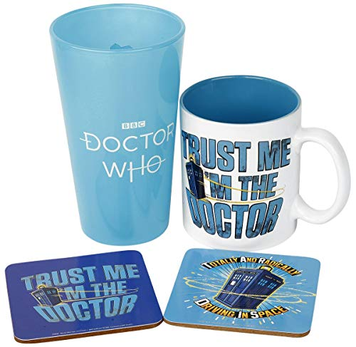 GB eye Doctor Who Gift Box Tardis Kelche Tassen