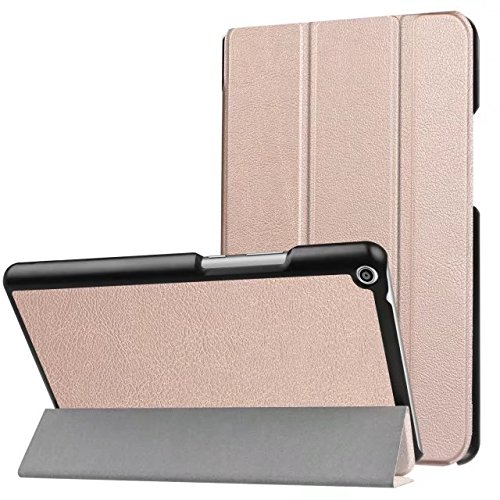 XITODA HUAWEI MediaPad T3 8 Cover,Case for MediaPad T3 8 - Ultra Slim PU leather Smart Cover for HUAWEI MediaPad T3 8.0 Inch Tablet Case Shell Protection with Standfunction(rose gold)