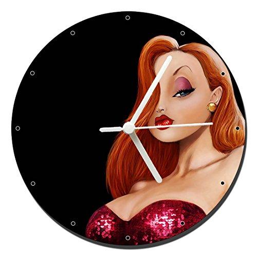 MasTazas Quien Engaño A Roger Rabbit Who Framed Roger Rabbit Jessica Rabbit Reloj de Pared Wall Clock 20cm