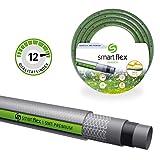 Smartflex Gartenschlauch Wasserschlauch SMT Premium 5 lagig Schlauch Bewässerungsschlauch *Silber/Grün (50 Meter - 3/4' (19 mm))