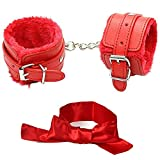 JUDRR Leather Handcuffs Set Adjustable Wrist Cuffs TGBT-22