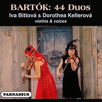 Bartók: 44 Duets for Two Violins - Bittová, Kellerová