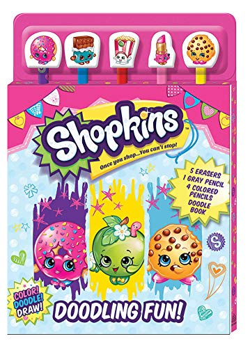 Shopkins: Doodling Fun (Pencil Toppers)
