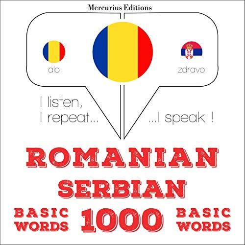 Romanian - Serbian. 1000 basic words audiobook cover art