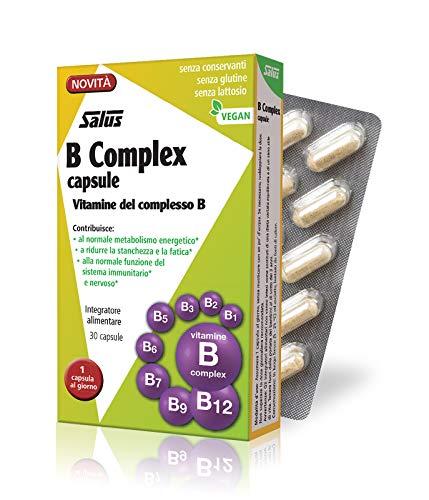 Salus B Complex - Integratore Alimentare di Vitamine del Gruppo B, 30 Capsule