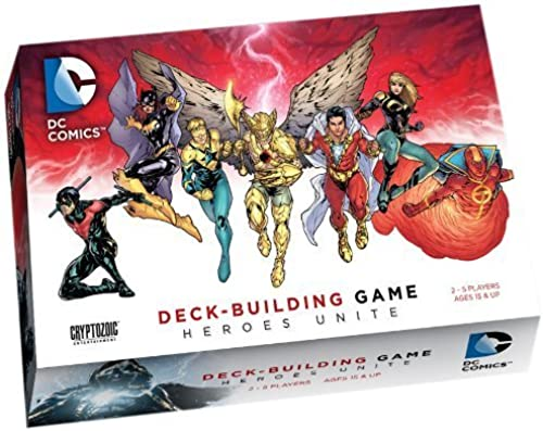DC Comics deck-building Game  Heroes Unite by Cryptozoic