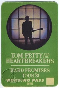Original Backstage Pass for Tom Petty 1981 Hard Promises Tour