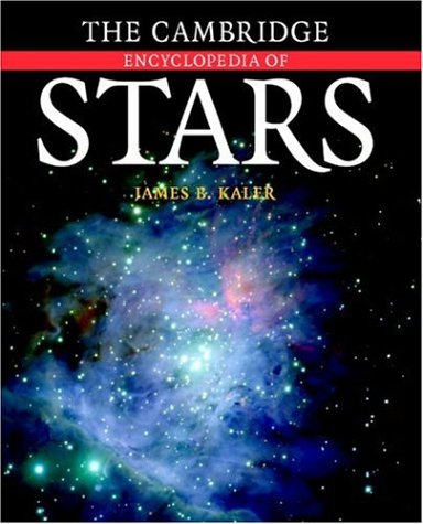 Image OfThe Cambridge Encyclopedia Of Stars