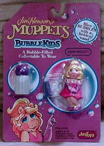 Jim Hensons Muppets Miss Piggy Bubble Kids (1992) by JusToys