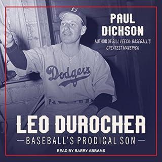 Leo Durocher audiobook cover art