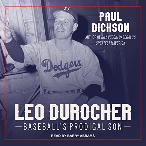 Leo Durocher audiobook cover art