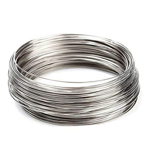 JKGHK Resistenza Nicromo Filo Resistore può Essere Utilizzato per Elettrodomestici (Lunghezza: 10 Metri),Diameter:1mm