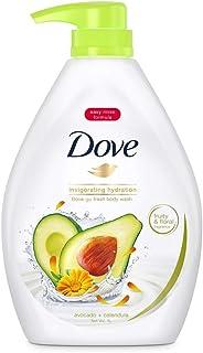 Dove Go Fresh Avocado and Calendula Paraben-Free Body Wash, 1L