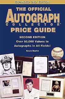 autograph values online