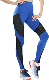 M-ONEZOU S-XL 3 Colors High Waist Mesh Leggings Workout Breathable Push Up Fitness Leggings Sexy Slim Polyester Legging