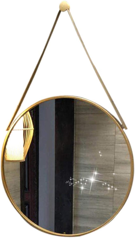 Round Mirror Stylish Bathroom Wall Mirror Bedroom Mirror ...