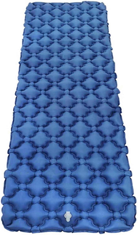 Shell Inflatable Sleeping Pad Camping Mat Ultra Light Air Air Air Bed Camp Bed Moisture-Proof Backpack Hiking Beach mit Luft-Support-Frame Design,Blau B07PVQSV5N  Neuer Markt d45109