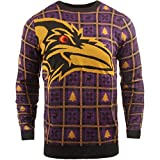 BIG NFL Ugly Sweater Pullover Christmas Baltimore Ravens Logo Weihnachtspullover -