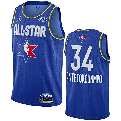 Jordan NBA Swingman All Star Blue Jersey 2020 CJ1062-495 Size L